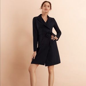 Brooks Brothers Navy Trench Dress